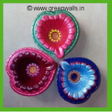 Diya-4 Set of 3
