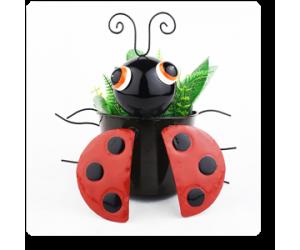 "5"" Black Beetle Planter"