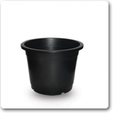 "4"" Plastic Pot ( Black )"