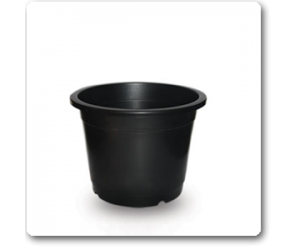"4"" Plastic Pot ( Black )"