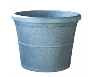 "24"" Duro New No. 60 Stone Finish Planter ( Light Gray )"