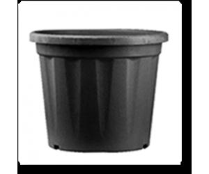 "20"" Grower Plastic Pot ( Black ) - Pack of Three"