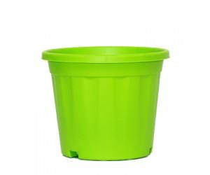 "8"" XL Grower Plastic Pot ( Green ) - Pack of Three"
