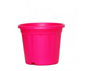 """8"""" XL Grower Plastic Pot ( Pink ) - Pack of Three"""