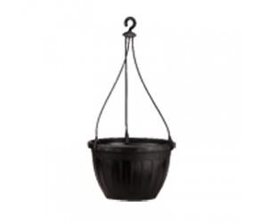 """2.7"""" Hanging Basket Small (Black)"""
