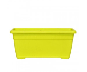 """18"""" Window Planter Small ( Lime Yellow ) - Pack of Three"""